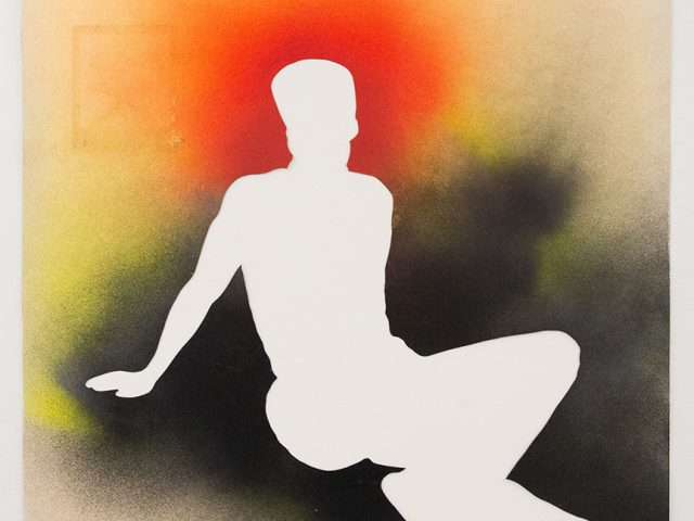 Jane Bauman, Seated Man, 1982