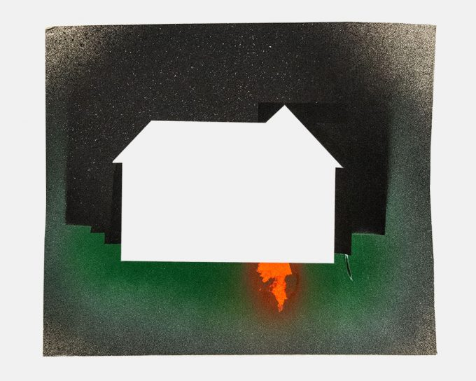 Jane Bauman, David Wojnarowicz_Jane B, Dark House, 1979-81