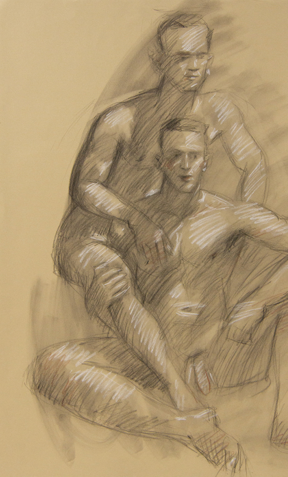 Untitled (Two Seated Nudes)