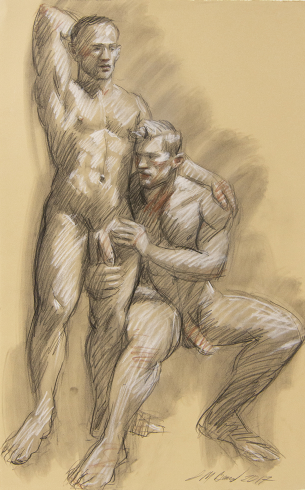 Untitled (Two Nudes, Standing and Seated)