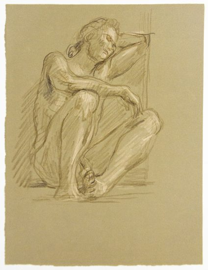 Paul Cadmus, Resting Male Nude