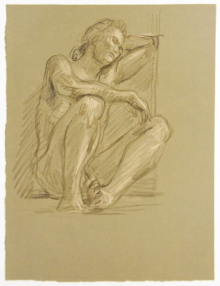 Resting Male Nude