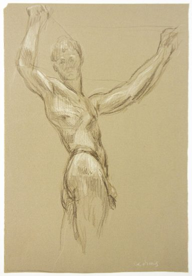Paul Cadmus, Standing Male Nude