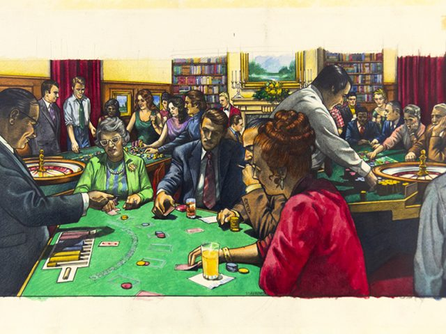 George Stavrinos, Gambling Library