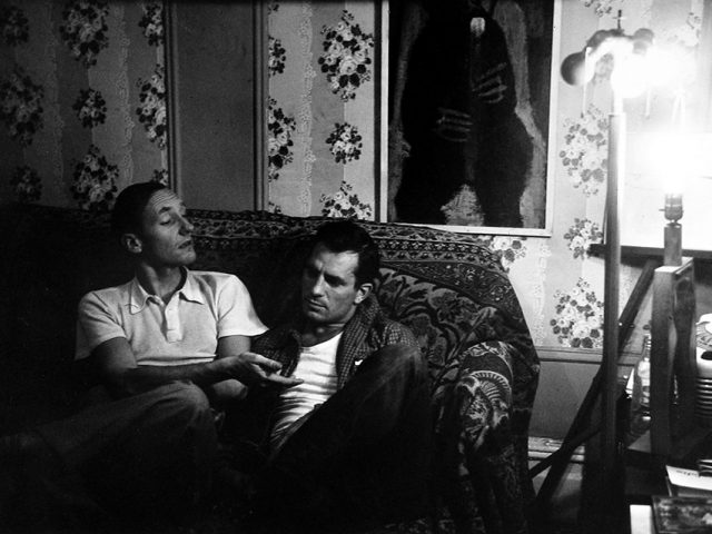 Allen Ginsburg, William S. Burroughs and Jack Kerouac