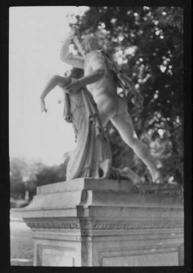 David Armstrong, Statue at Versailles
