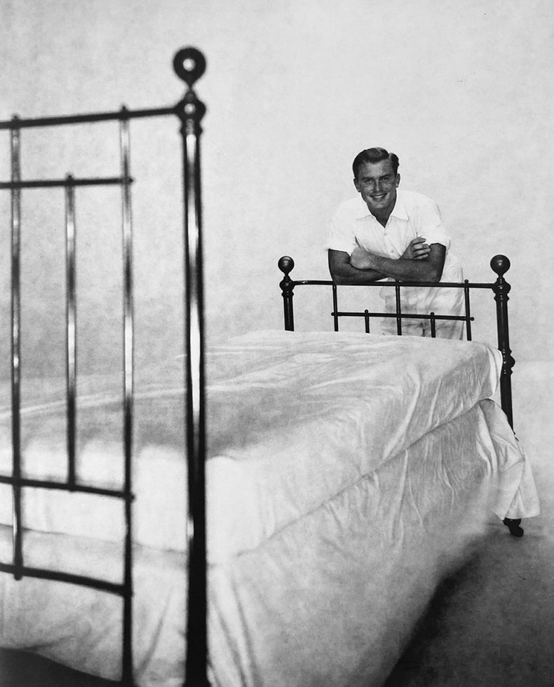 Alexander Jensen Yow Leaning on Bed