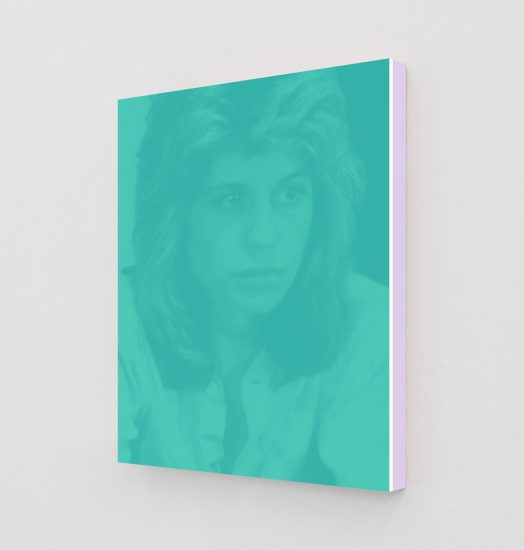 Daniel Handal, Linda Hamilton as Sarah (Tiffany Blue II), 2019