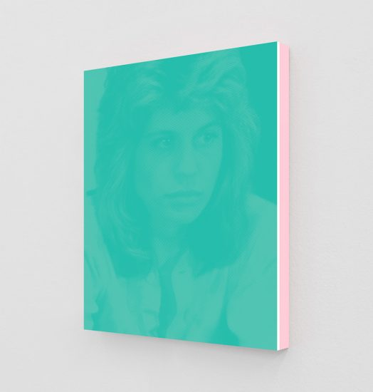 Daniel Handal, Linda Hamilton as Sarah (Tiffany Blue I), 2019
