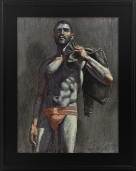 Mark Beard, [Bruce Sargeant (1898-1938)] Florent in a Red Jockstrap