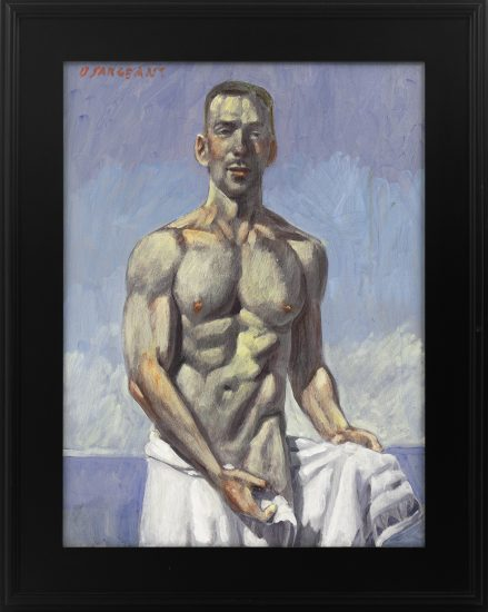 Mark Beard, [Bruce Sargeant (1898-1938)] Julian Coming Out of the Water_980