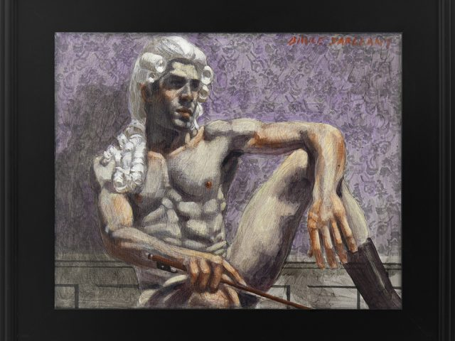 Mark Beard, [Bruce Sargeant (1898-1938)] Man in Powdered Wig at Rest