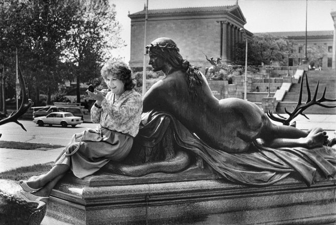 Mariette Pathy Allen_Alison being observed, at the Philadelphia Museum of Art_Transformations_013_980