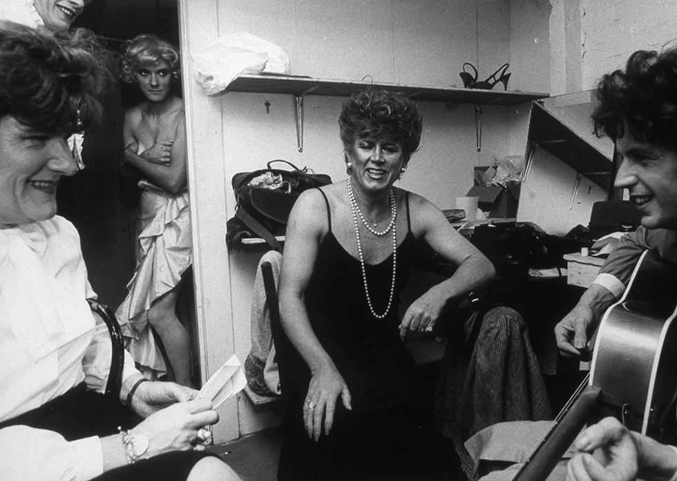 Dressing Room Before a Performance at Fantasia Fair