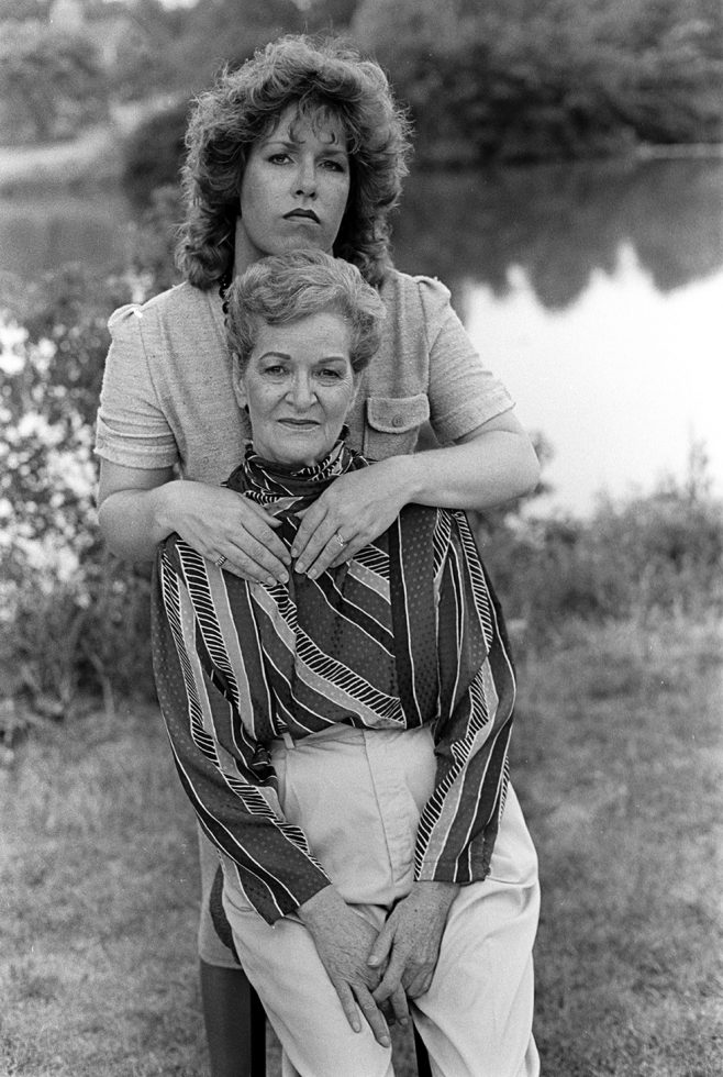 Gwen With Her Mother, Milwaukee
