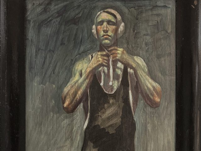 Mark Beard_[Bruce Sargeant (1898-1938)] Captain John Barnes Readying for Waterpolo
