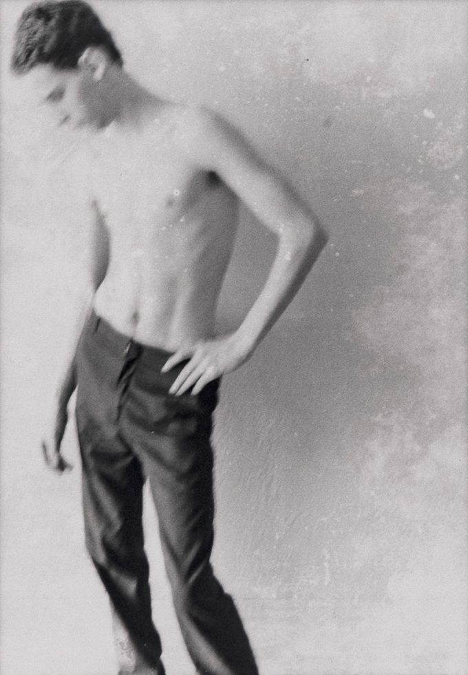 Untitled (Man Posing Without a Shirt)