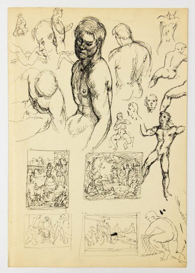 Barrington_Many Figure Studies and Studies for Compositions with Groups