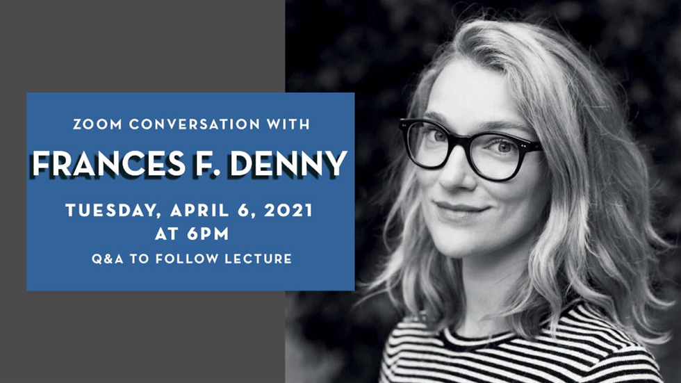 A conversation with Frances F. Denny hosted by the Southeast Museum of Photography