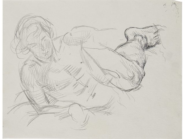 Cadmus, Study for David and Goliath