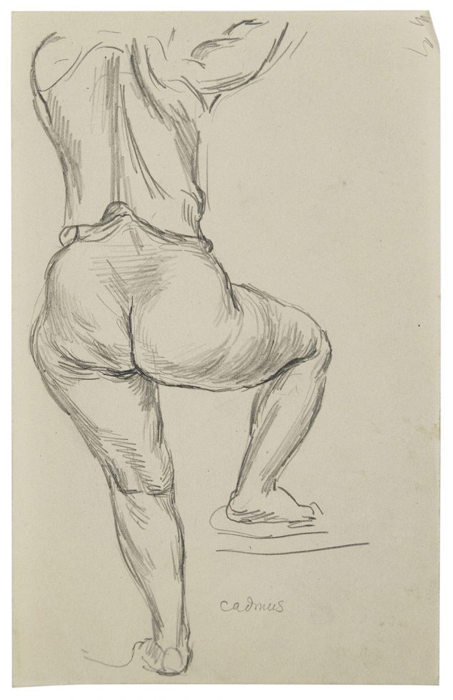 Woman from Behind (Leg Raised)