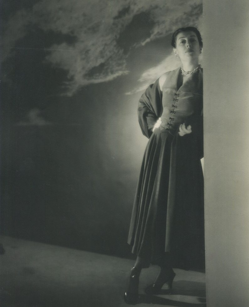 Portrait of a Woman Leaning