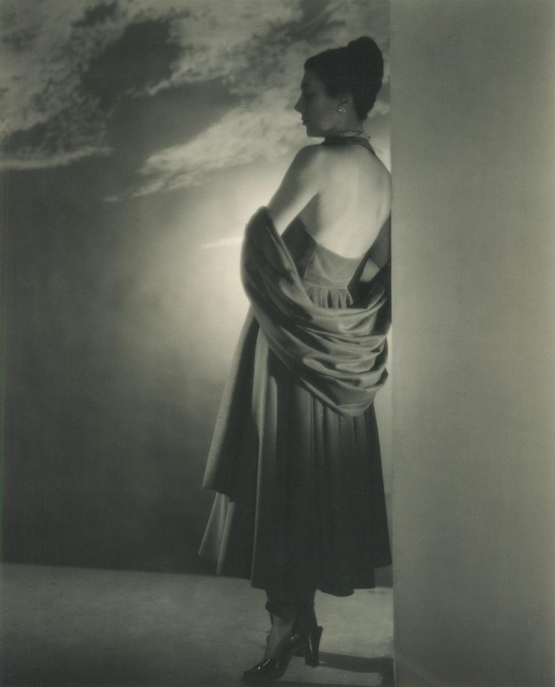 Portrait of a Woman From Behind