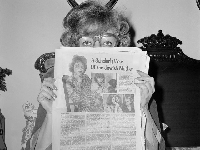 Meryl Meisler, Mom Reading A Scholarly View Of the Jewish Mother, Sassy 70s