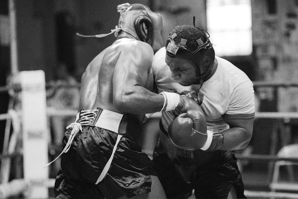 Untitled (Sparring)