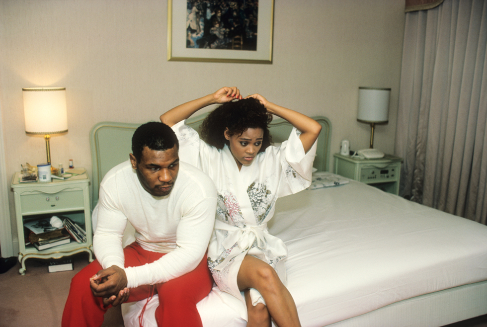 Untitled (Mike Tyson and Robin Givens in Tokyo)