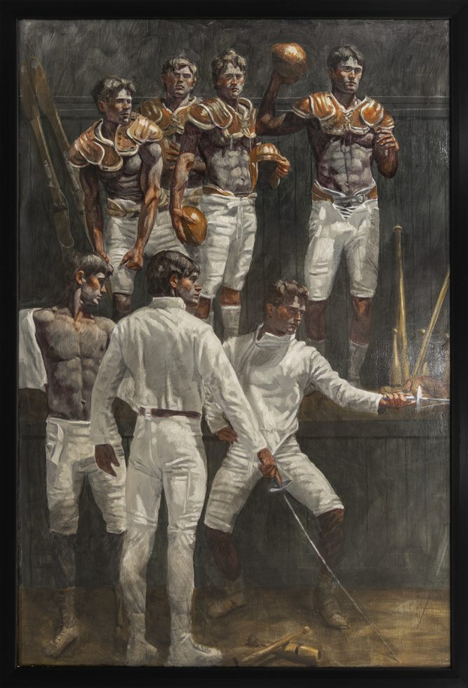 [Bruce Sargeant (1898-1938)] Seven Young Athletes