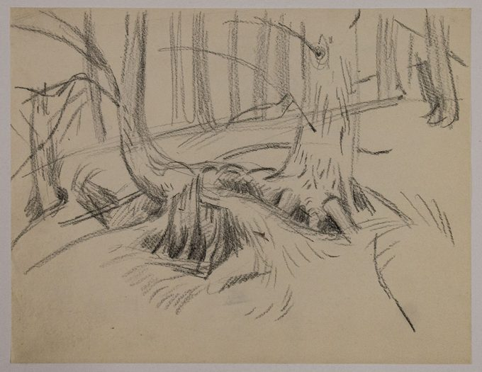 Paul Cadmus, Trees with Roots Intertwined