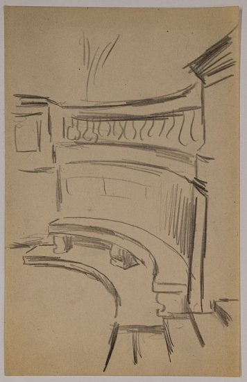 Paul Cadmus, Study of a Theater