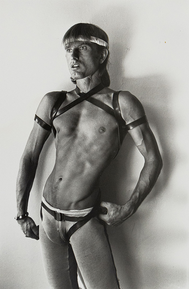 Self Portrait in Leather Harness I